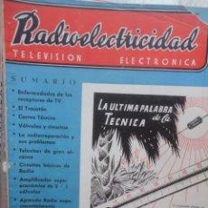 Radios antiguas - REVISTA RADIOELECTRICIDAD TELEVISION ELECTRONICA SEPTIEMBRE 1954 - 60864323