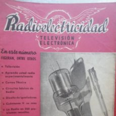 Radios antiguas - REVISTA RADIOELECTRICIDAD TELEVISION ELECTRONICA MARZO 1952 - 60865939