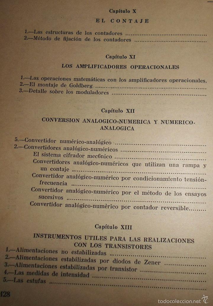 Radios antiguas: EMPLEO RACIONAL DE LOS TRANSISTORES. TODA LA PRÁCTICA DE LOS SEMICONDUCTORES . AÑO 1965 (ver índice) - Foto 6 - 61137027