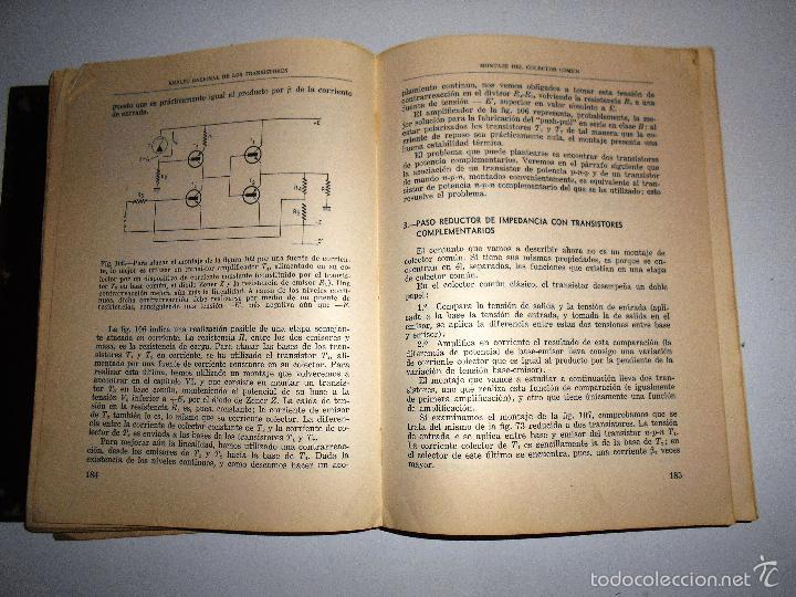 Radios antiguas: EMPLEO RACIONAL DE LOS TRANSISTORES. TODA LA PRÁCTICA DE LOS SEMICONDUCTORES . AÑO 1965 (ver índice) - Foto 9 - 61137027