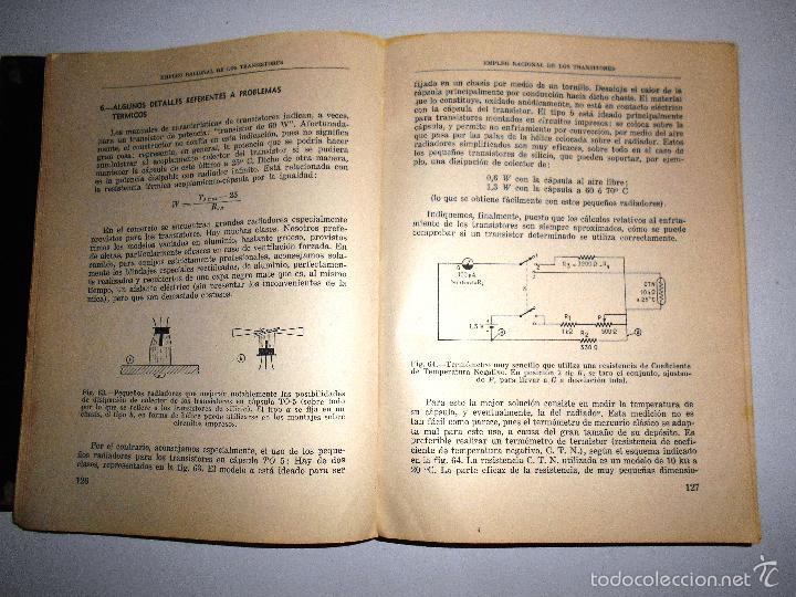 Radios antiguas: EMPLEO RACIONAL DE LOS TRANSISTORES. TODA LA PRÁCTICA DE LOS SEMICONDUCTORES . AÑO 1965 (ver índice) - Foto 10 - 61137027