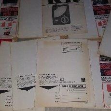 Radios antiguas: AFHA ELECTRONICA RADIO TV . Lote 61299119