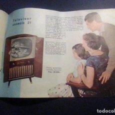 Radios antiguas: CATALOGO TELEFUNKEN RADIO TELEVISIÓN RADIOFONO AÑO 1960. Lote 61615952