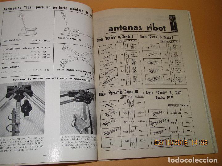 Radios antiguas: Catálogo Listín de Precios Componentes: Radio FM T.V. U.H.F. TRANSISTORES *RADIO CASTILLA* Año 1966 - Foto 8 - 62221860