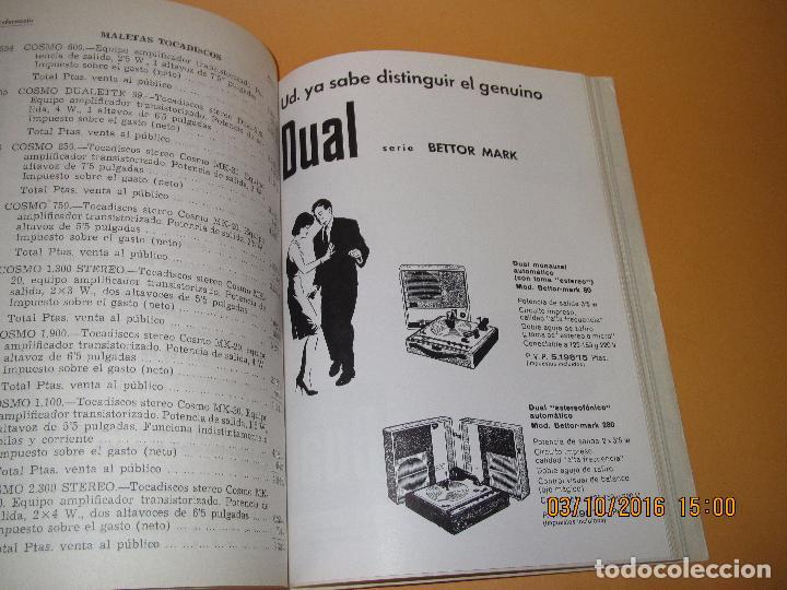 Radios antiguas: Catálogo Listín de Precios Componentes: Radio FM T.V. U.H.F. TRANSISTORES *RADIO CASTILLA* Año 1966 - Foto 10 - 62221860