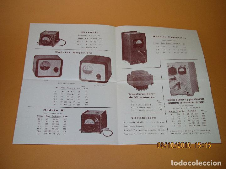 Radios antiguas: Antiguos Folletos Catalogo Tarifa de Precios de *RADIO MASO* de Valencia Año 1961-62 - Foto 2 - 62222980