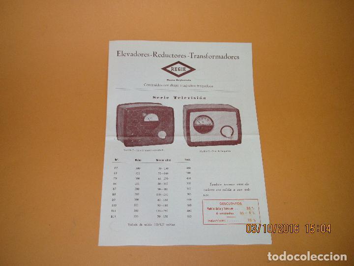 Radios antiguas: Antiguos Folletos Catalogo Tarifa de Precios de *RADIO MASO* de Valencia Año 1961-62 - Foto 3 - 62222980