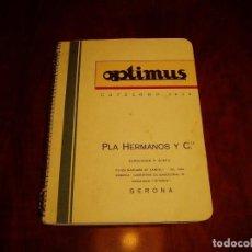 Radios antiguas: CATÁLOGO OPTIMUS INSTRUMENTOS CON PLANO RADIO. Lote 63134080