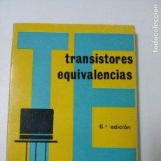 Radio antiche: TRANSISTORES, EQUIVALENCIAS - EUROPEOS, AMERICANOS, JAPONESES . Lote 64188259