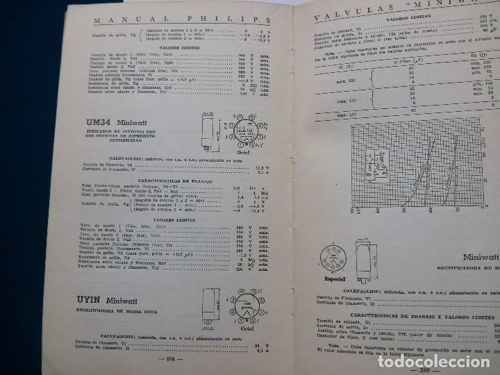Radios antiguas: VALVULAS MINIWATT - MANUAL PHILIPS . 1957 - Foto 2 - 64420003
