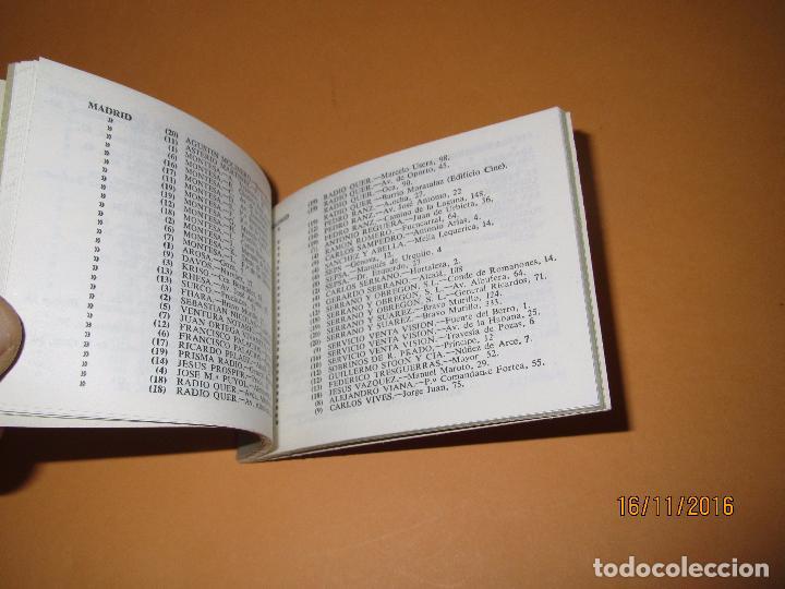 Radios antiguas: Antiguo Catalogo Lista Oficial de Estaciones de Servicio PHILIPS del Año 1963 - Foto 2 - 67063222