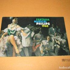 Radios antiguas - Antiguo Catalogo General de Electrodomésticos PHILIPS del Año 1965 Radios Tocadiscos Televisiones - 67063438