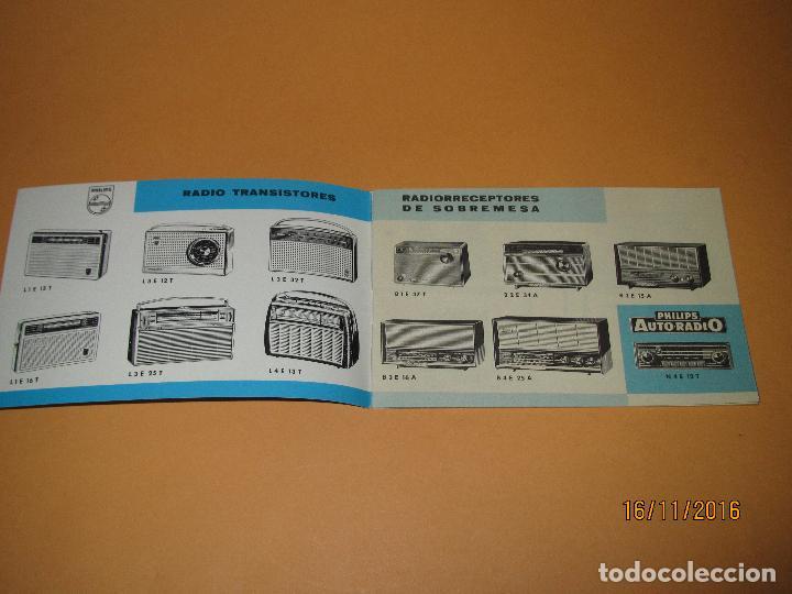Radios antiguas: Antiguo Catalogo General de Electrodomésticos PHILIPS del Año 1965 Radios Tocadiscos Televisiones - Foto 2 - 67063438