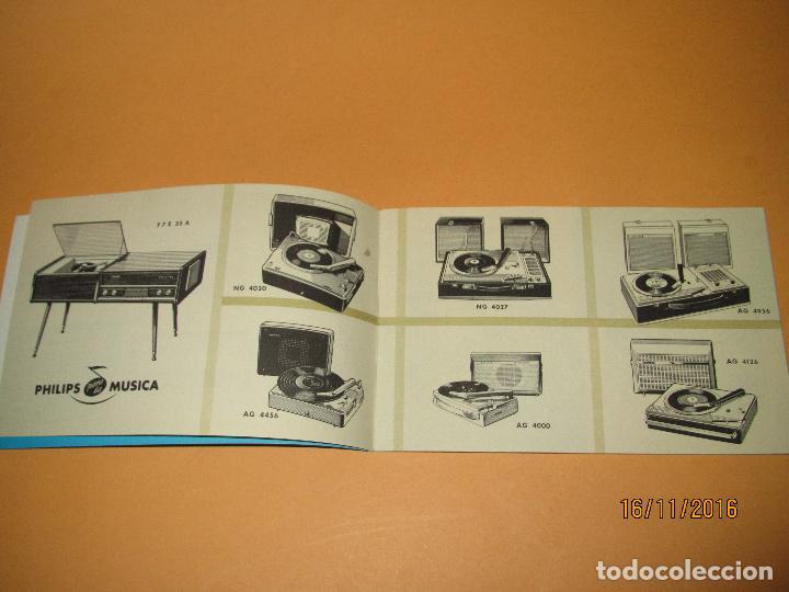 Radios antiguas: Antiguo Catalogo General de Electrodomésticos PHILIPS del Año 1965 Radios Tocadiscos Televisiones - Foto 3 - 67063438