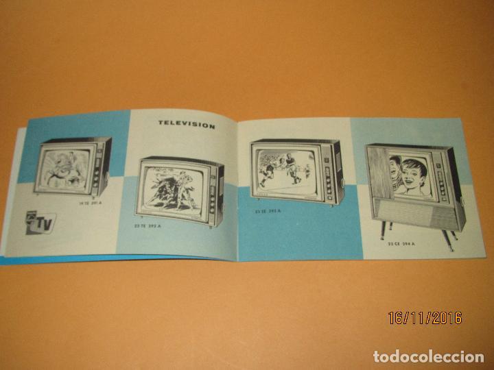 Radios antiguas: Antiguo Catalogo General de Electrodomésticos PHILIPS del Año 1965 Radios Tocadiscos Televisiones - Foto 4 - 67063438