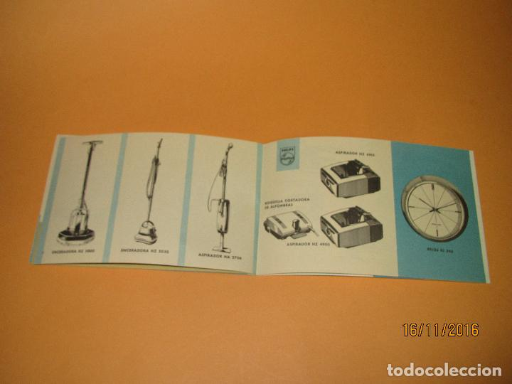 Radios antiguas: Antiguo Catalogo General de Electrodomésticos PHILIPS del Año 1965 Radios Tocadiscos Televisiones - Foto 5 - 67063438