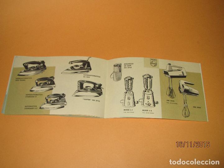 Radios antiguas: Antiguo Catalogo General de Electrodomésticos PHILIPS del Año 1965 Radios Tocadiscos Televisiones - Foto 6 - 67063438