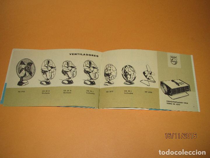 Radios antiguas: Antiguo Catalogo General de Electrodomésticos PHILIPS del Año 1965 Radios Tocadiscos Televisiones - Foto 7 - 67063438