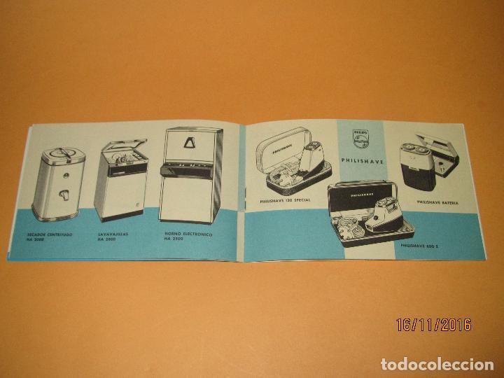 Radios antiguas: Antiguo Catalogo General de Electrodomésticos PHILIPS del Año 1965 Radios Tocadiscos Televisiones - Foto 8 - 67063438