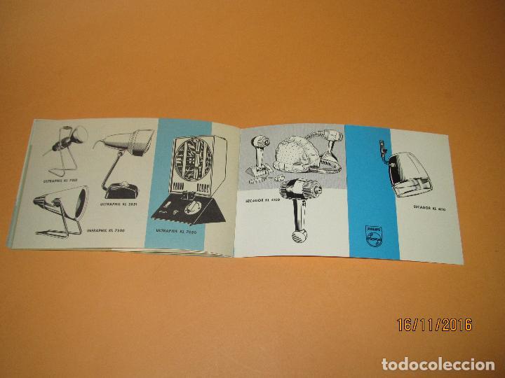 Radios antiguas: Antiguo Catalogo General de Electrodomésticos PHILIPS del Año 1965 Radios Tocadiscos Televisiones - Foto 10 - 67063438