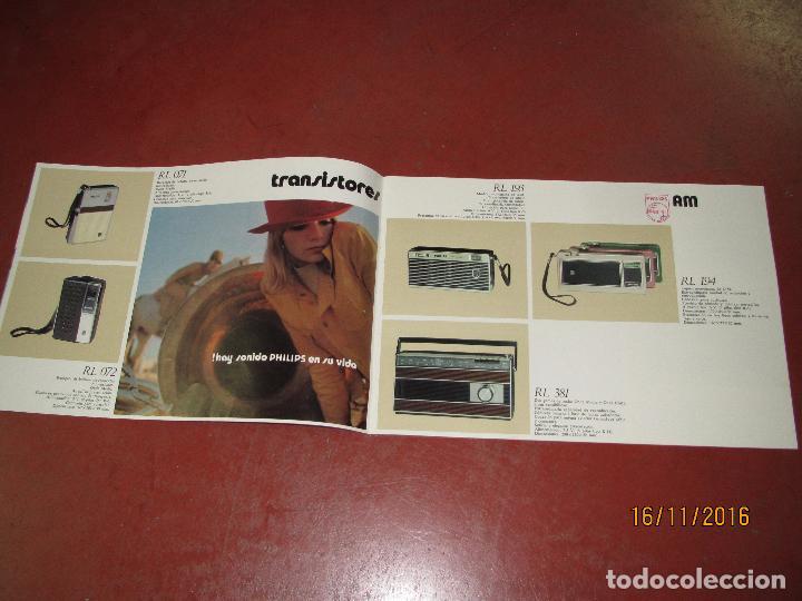 Radios antiguas: Antiguo Catálogo de Sonido PHILIPS Año 1971 Radios Tocadiscos Equipos de Música Magnetófonos - Foto 3 - 67063942