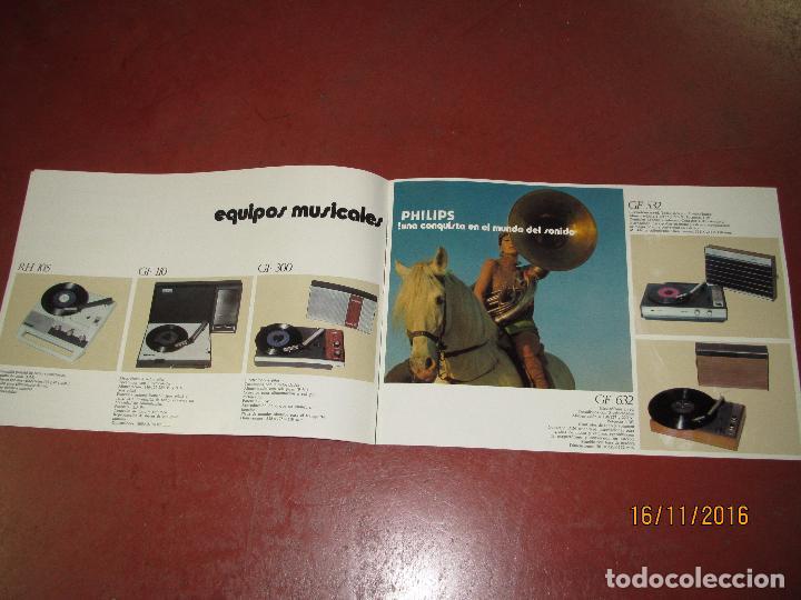 Radios antiguas: Antiguo Catálogo de Sonido PHILIPS Año 1971 Radios Tocadiscos Equipos de Música Magnetófonos - Foto 4 - 67063942