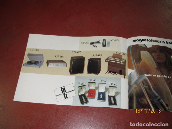 Radios antiguas: Antiguo Catálogo de Sonido PHILIPS Año 1971 Radios Tocadiscos Equipos de Música Magnetófonos - Foto 5 - 67063942
