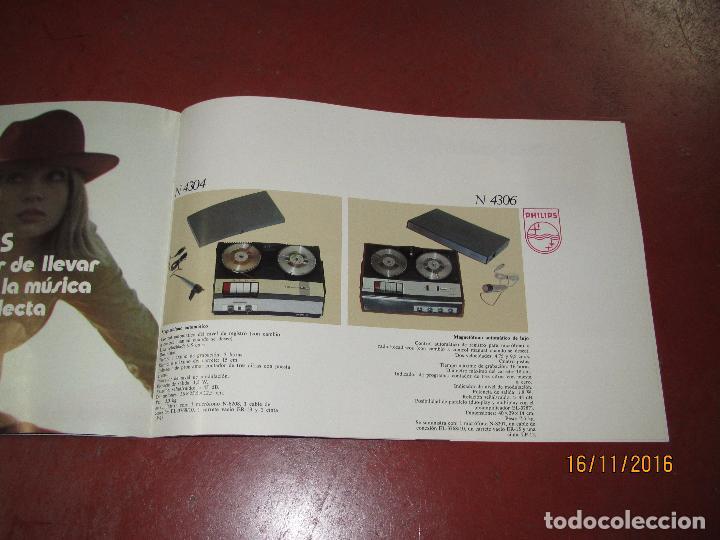 Radios antiguas: Antiguo Catálogo de Sonido PHILIPS Año 1971 Radios Tocadiscos Equipos de Música Magnetófonos - Foto 6 - 67063942