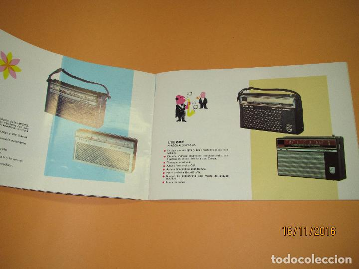Radios antiguas: Antiguo Catálogo General PHILIPS Año 1967 Radios Tocadiscos Equipos de Música Televisores Juguetes - Foto 2 - 67064166