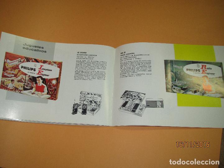 Radios antiguas: Antiguo Catálogo General PHILIPS Año 1967 Radios Tocadiscos Equipos de Música Televisores Juguetes - Foto 3 - 67064166