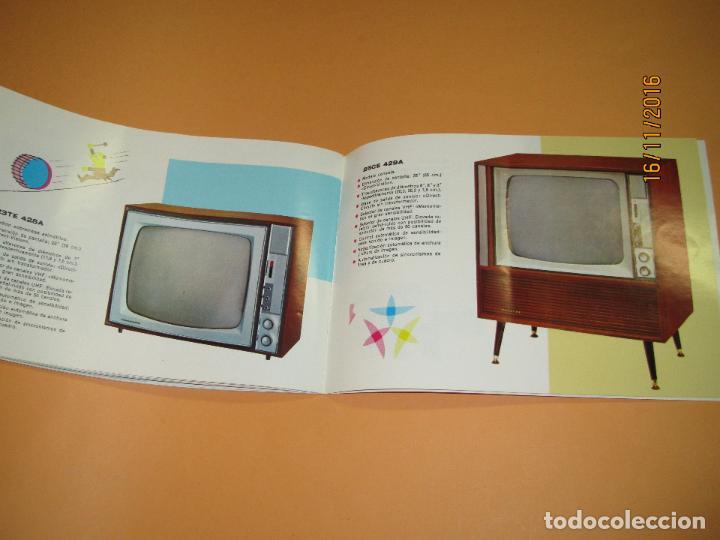 Radios antiguas: Antiguo Catálogo General PHILIPS Año 1967 Radios Tocadiscos Equipos de Música Televisores Juguetes - Foto 4 - 67064166