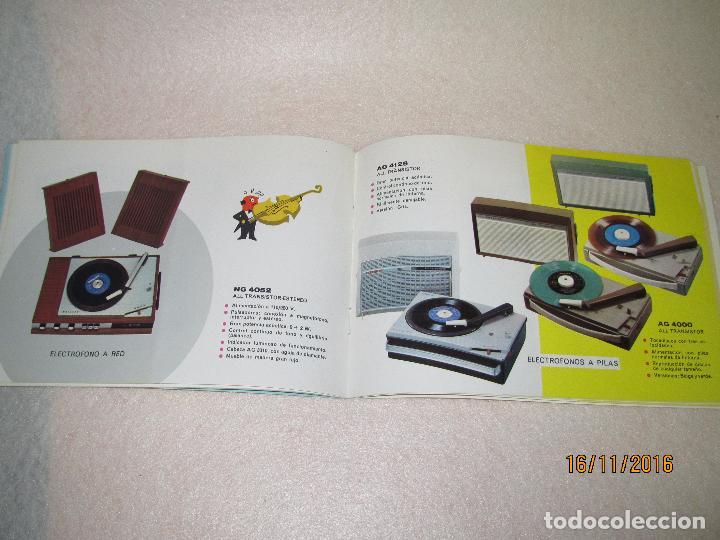 Radios antiguas: Antiguo Catálogo General PHILIPS Año 1967 Radios Tocadiscos Equipos de Música Televisores Juguetes - Foto 5 - 67064166