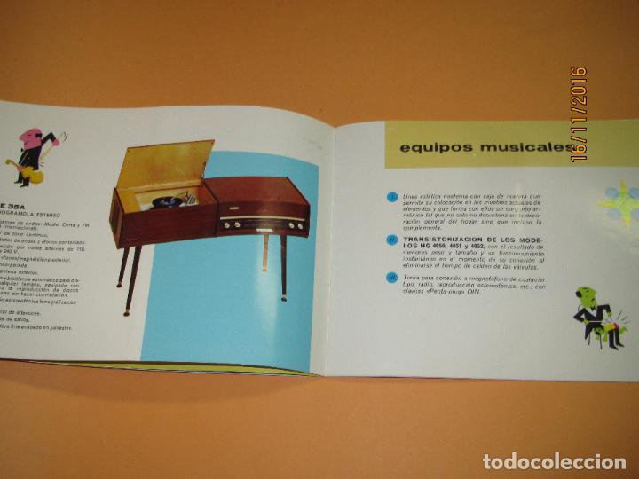 Radios antiguas: Antiguo Catálogo General PHILIPS Año 1967 Radios Tocadiscos Equipos de Música Televisores Juguetes - Foto 7 - 67064166