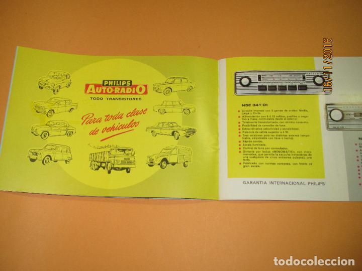 Radios antiguas: Antiguo Catálogo General PHILIPS Año 1967 Radios Tocadiscos Equipos de Música Televisores Juguetes - Foto 8 - 67064166