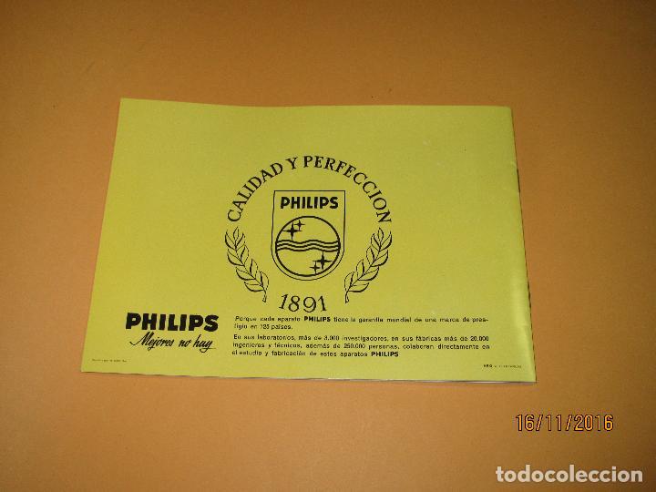Radios antiguas: Antiguo Catálogo General PHILIPS Año 1967 Radios Tocadiscos Equipos de Música Televisores Juguetes - Foto 10 - 67064166