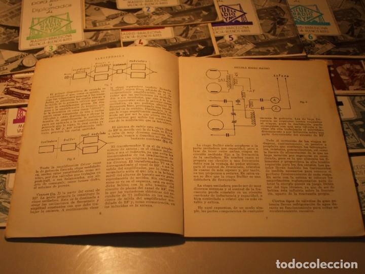Radios antiguas: 18 REVISTAS COLECCIÓN COMPLETA ELECTRÓNICA NOTICIARIO ESCUELA RADIO MAYMÓ, - Foto 3 - 67693601