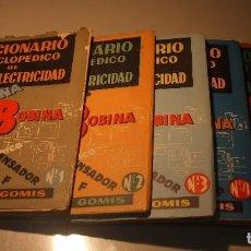 Radios antiguas: 6 FASCÍCULOS DICCIONARIO ENCICLOPÉDICO DE RADIOELECTRICIDAD - ESCUELA RADIO MAYMÓ. Lote 68074441
