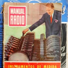 Radios antiguas: MANUAL DE RADIO Nº 27 - POR R.J. DARKNESS - 1955. Lote 69714733