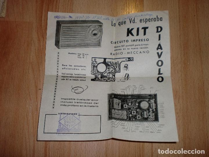 Radios antiguas: MATERIAL CURSO DE RADIO MAYMO - Foto 2 - 71038125