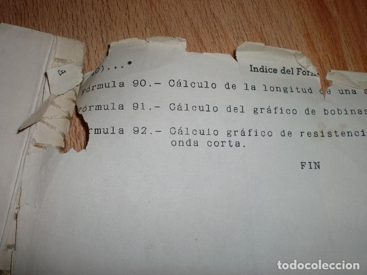 Radios antiguas: MATERIAL CURSO DE RADIO MAYMO - Foto 11 - 71038125