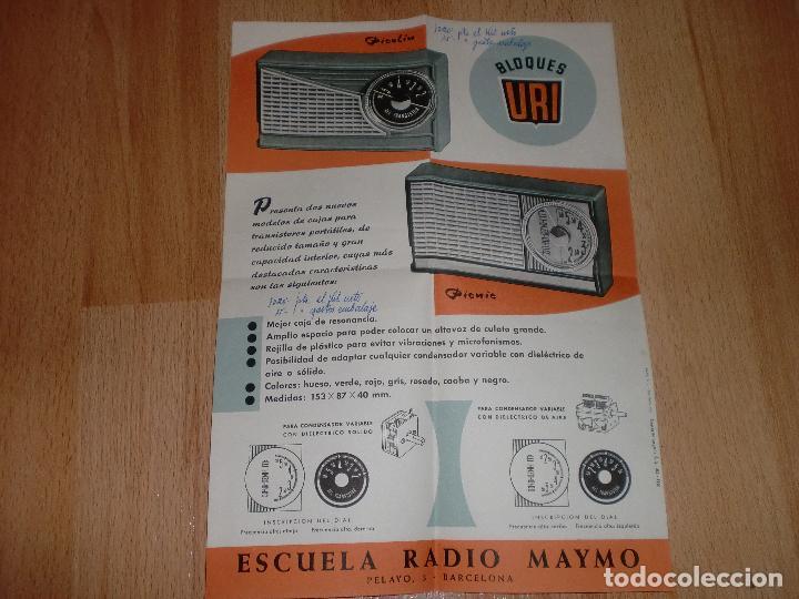 Radios antiguas: MATERIAL CURSO DE RADIO MAYMO - Foto 12 - 71038125