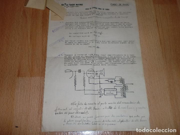 Radios antiguas: MATERIAL CURSO DE RADIO MAYMO - Foto 17 - 71038125