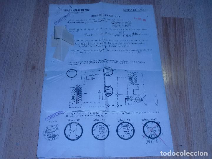 Radios antiguas: MATERIAL CURSO DE RADIO MAYMO - Foto 18 - 71038125
