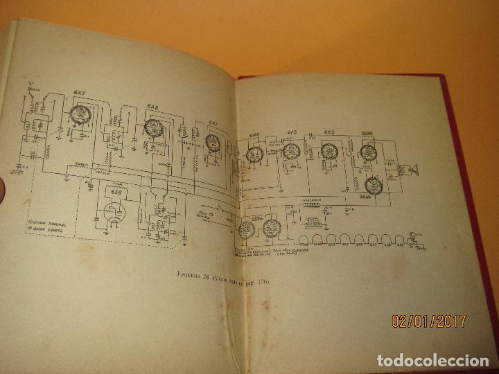 Radios antiguas: Antiguo Libro * 30 RECEPTORES DE FACIL MONTAJE* de la Editorial Bruguera - Año 1944 - Foto 3 - 71837919