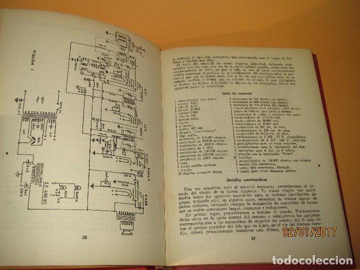 Radios antiguas: Antiguo Libro * 30 RECEPTORES DE FACIL MONTAJE* de la Editorial Bruguera - Año 1944 - Foto 5 - 71837919