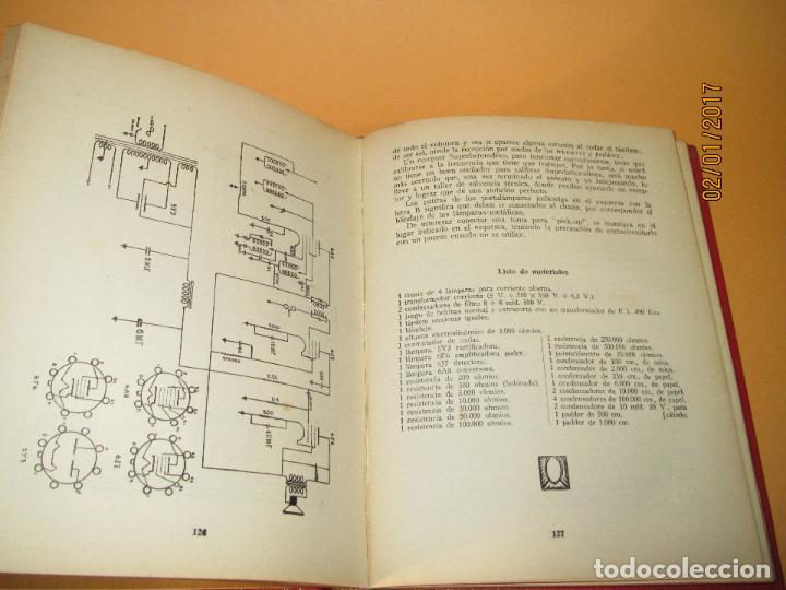 Radios antiguas: Antiguo Libro * 30 RECEPTORES DE FACIL MONTAJE* de la Editorial Bruguera - Año 1944 - Foto 6 - 71837919