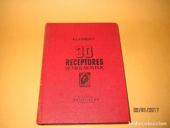 Radios antiguas: Antiguo Libro * 30 RECEPTORES DE FACIL MONTAJE* de la Editorial Bruguera - Año 1944 - Foto 9 - 71837919