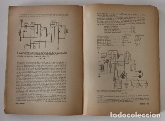 Radios antiguas: CURSO DE RADIO - EDITORIAL HOBBY, AÑO 1947 - Foto 4 - 72096259