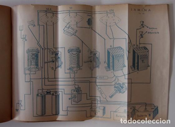 Radios antiguas: CURSO DE RADIO - EDITORIAL HOBBY, AÑO 1947 - Foto 5 - 72096259
