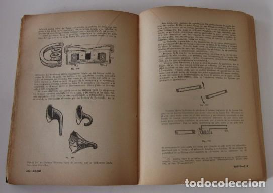 Radios antiguas: CURSO DE RADIO - EDITORIAL HOBBY, AÑO 1947 - Foto 6 - 72096259